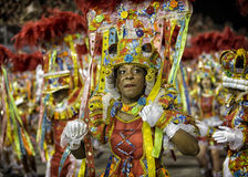 Carnival Samba Dancer Brazil Stock Photography