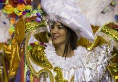 Carnival Samba Dancer Brazil Royalty Free Stock Photography