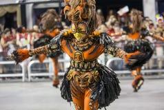 Carnival Samba Dancer Brazil Royalty Free Stock Photos