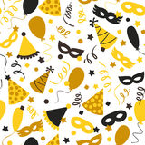 Carnival seamless pattern Stock Photography