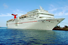 Carnival Sensation. The Carnival Sensation fantasy class cruise ship Royalty Free Stock Image