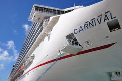 Carnival ship Royalty Free Stock Images