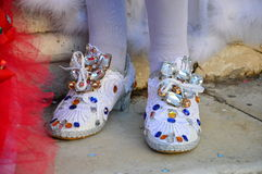 Carnival shoes Stock Photo