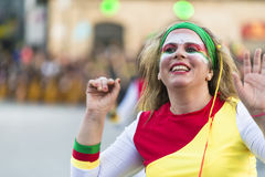 Carnival in Spain band Royalty Free Stock Photography