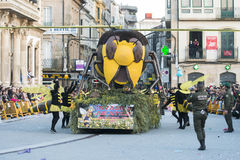 Carnival in Spain bees Royalty Free Stock Photo