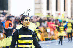 Carnival in Spain bees Stock Image
