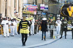 Carnival in Spain bees Stock Photo