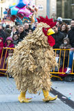 Carnival in Spain chicken Royalty Free Stock Image