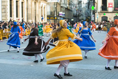 Carnival in Spain and far west Stock Photo