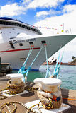 Carnival Spirit Cruise Liner docked at Sydney Harbour Stock Photos
