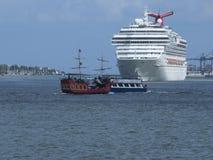 Carnival Splendor Cruise ship Royalty Free Stock Photo