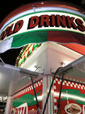 Carnival Stand Drinks Pizza Royalty Free Stock Photography