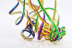 Carnival, streamers, Map Royalty Free Stock Image