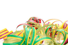 Carnival, streamers, Map Stock Photos
