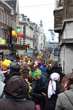 Carnival street performers in Maastricht Royalty Free Stock Photos