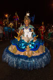 Carnival of summer in Mindelo, Cape Verde Royalty Free Stock Photos