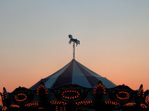 carnival sunset Στοκ φωτογραφία με δικαίωμα ελεύθερης χρήσης