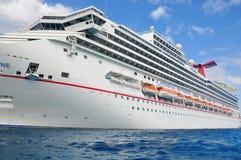 Carnival Sunshine cruise ship Royalty Free Stock Images