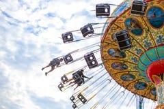 Carnival swing ride Royalty Free Stock Photos