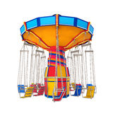Carnival Swing Ride. Isolated on white background. 3D render Stock Photos