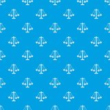 Carnival swing ride pattern seamless blue. Carnival swing ride pattern repeat seamless in blue color for any design. Vector geometric illustration Stock Image