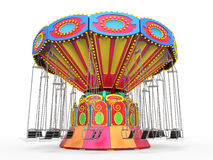 Carnival Swing Ride Royalty Free Stock Photography