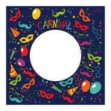 Carnival template Stock Photo