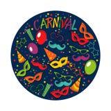 Carnival template Stock Photos