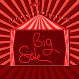 Carnival tent circus big sale Royalty Free Stock Photo