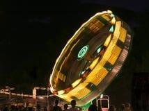 Carnival thrill ride Stock Photo