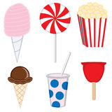Carnival treats stock illustration