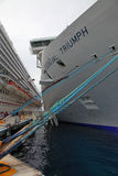 Carnival Triumph and Dream royalty free stock photos