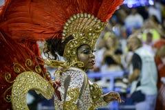 Carnival 2017 - Uniao da Ilha Royalty Free Stock Photo