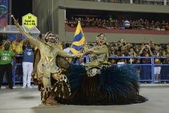 Carnival 2017 - Unidos da Tijuca Stock Photos