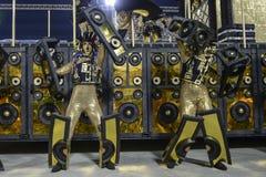 Carnival 2017 - Unidos da Tijuca Royalty Free Stock Photos