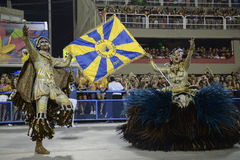 Carnival 2017 - Unidos da Tijuca Royalty Free Stock Images
