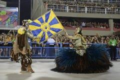 Carnival 2017 - Unidos da Tijuca Stock Image