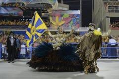 Carnival 2017 - Unidos da Tijuca Royalty Free Stock Photography