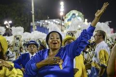 Carnival 2017 - Unidos da Tijuca Stock Photo