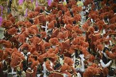 Carnival 2017 - Unidos da Tijuca Royalty Free Stock Image