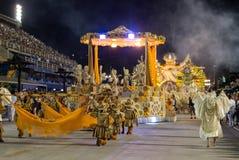 Carnival 2016 - Unidos de Vila Isabel Stock Photos