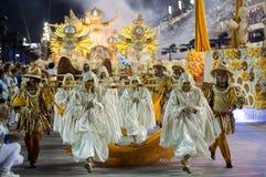 Carnival 2016 - Unidos de Vila Isabel Royalty Free Stock Images