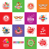 Carnival vector logo Royalty Free Stock Photography