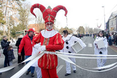 Carnival in Velika Gorica - Topics Court jester c Stock Photography