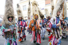 Carnival in Velika Gorica - Topics Ringers 1 Stock Photography