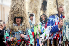 Carnival in Velika Gorica - Topics Ringers Royalty Free Stock Photography