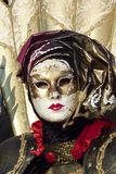 Carnival venetian mask Stock Images