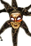 Carnival venetian mask of sun Royalty Free Stock Image