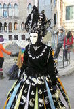 Carnival, Venezia, costumes and masks 11 Stock Images