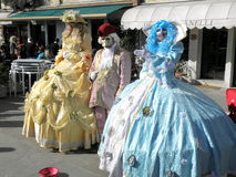 Carnival, Venezia, costumes and masks 19 Royalty Free Stock Photo